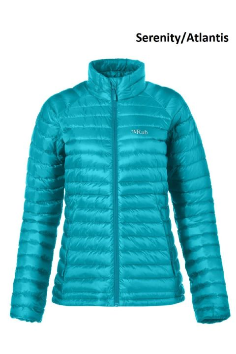 Rab Womens Microlight Down Jacket - Warm - Lightweight